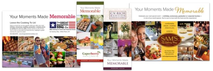 New York Hospitality Group Print Promotional